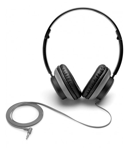 HP 2VB08AA Stereo On-Ear Headset (Black)