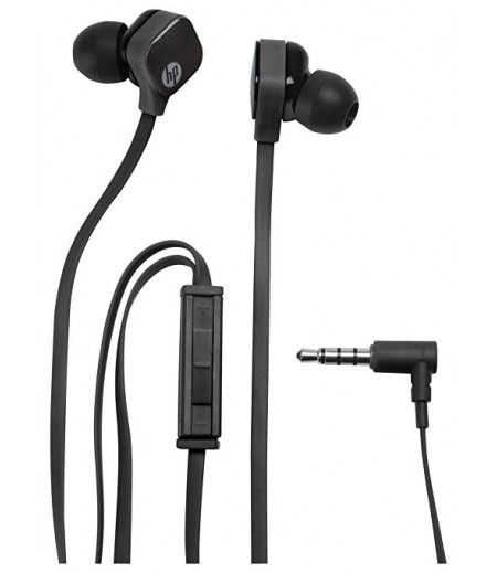 HP in-Ear H2310 Universal Headset with Mic and Volume Control (Black)