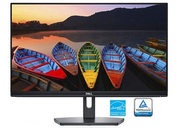 Dell SE2419H S-Series Full HD 1920 x 1080 Pixel LED IPS Monitor with 3 Sided Narrow Bezel, VGA, HDMI - Black