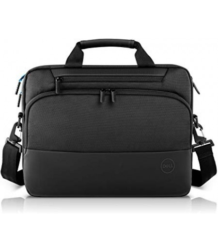 Dell Pro Briefcase 14 (PO1420C), Made with an Earth-Friendly Solution-Dyeing Process and Shock-Absorbing EVA Foam That Protects Your Laptop from Impact