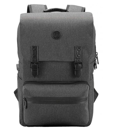 HP Millennial Backpack with Detachable Laptop Sleeve and Pouch (Ebony)-M000000000189 www.mysocially.com
