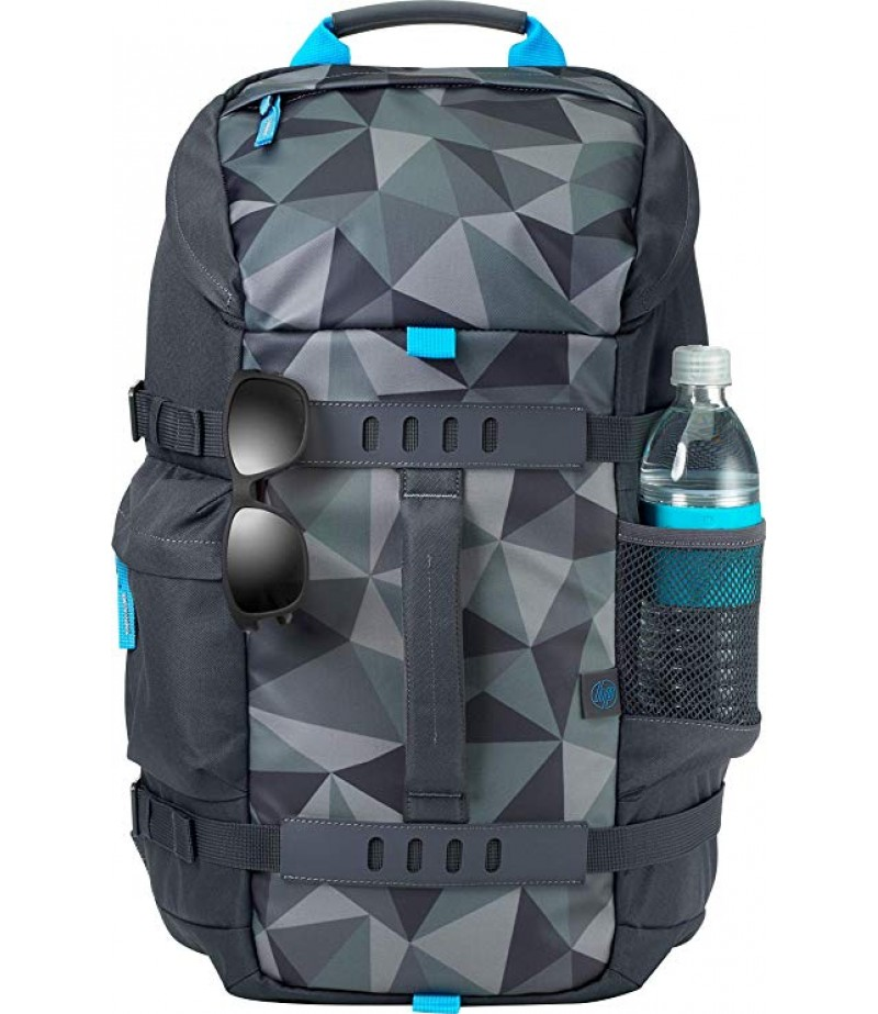 HP 15.6 Grey Odyssey Backpack (5WK93AA)-M000000000179 www.mysocially.com