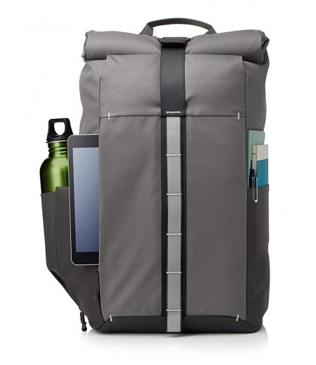 HP Pavilion Rolltop Grey Backpack (5EE90AA)