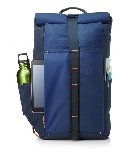 HP Pavilion Rolltop Blue Backpack (5EE88AA)