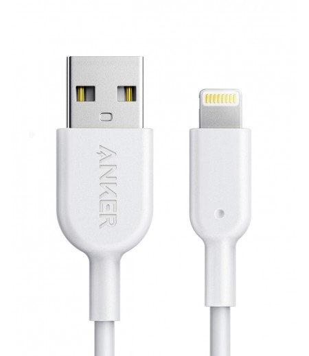 Anker PowerLine II Lightning Cable (3ft), Durable Cable, MFi Certified for iPhone X / 8 / 8 Plus / 7 / 7 Plus / 6 / 6 Plus / 5s