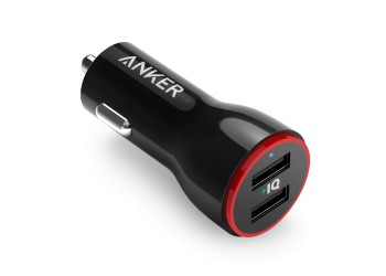 Anker PowerDrive AK-A2310011 Car Charger, in Black color