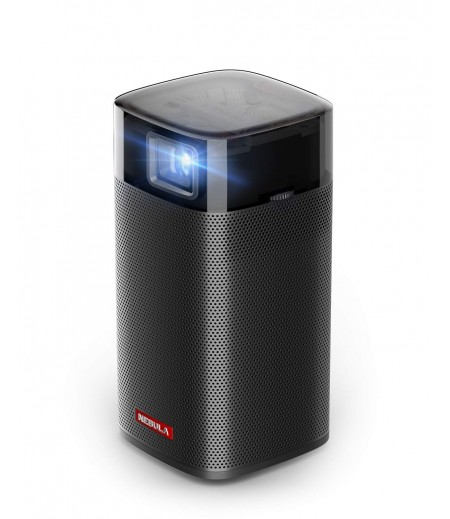 Anker Nebula Apollo, Wi-Fi Mini Projector, 200 ANSI Lumen Portable Projector, 6W Speaker, Movie Projector, 100 Inch Picture, 4-Hour Video Playtime, Outdoor Projector—Watch Anywhere