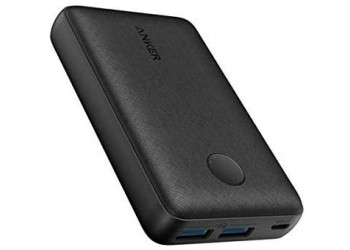 Anker PowerCore 10000 mAH High-Speed Charging with PowerIQ Power Bank for iPhone, Samsung Galaxy and More (Black)