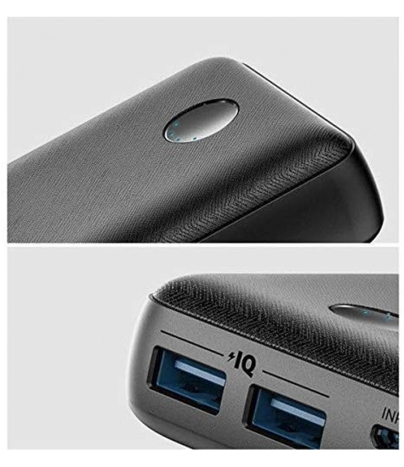Anker PowerCore 10000 mAH High-Speed Charging with PowerIQ Power Bank for iPhone, Samsung Galaxy and More (Black)-M000000000240 www.mysocially.com