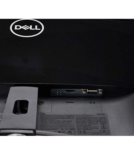 Dell 27 inch (68.58 cm) Thin Bezel LED Monitor - Full HD, IPS Panel with VGA, HDMI Ports - SE2719HR (Black/Silver)-M000000000157 www.mysocially.com