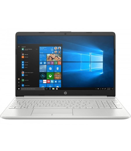HP 15 10th Gen Core i5 15.6-inch FHD Laptop (i5-10210U/8GB/1TB HDD + 256GB SSD/Win 10/MS Office/2GB NVIDIA GeForce MX130 Graphics/Natural Silver/1.74kg)