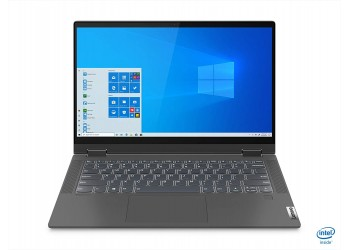 Lenovo IdeaPad Flex 5i 10th Gen Intel Core i3 14 inch Full HD IPS 2-in-1 Convertible Laptop (4GB/256GB SSD/Windows 10/MS Office 2019/Graphite Grey/1.5Kg), 81X10083IN
