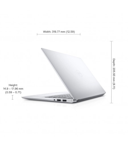 Dell Inspiron 7490 14-inch FHD Display Laptop (10th Gen i5-10210U/8GB/512GB SSD/Win 10 + MS Office/Integrated Graphics), Silver-M000000000515 www.mysocially.com