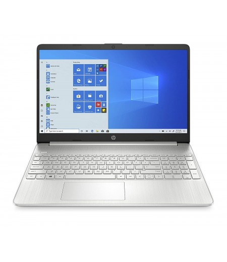 HP 10th Gen Intel Core i3 15.6-inch Laptop (i3-1005G1/4GB/512GB SSD/Windows 10 Home/MS Office/Natural Silver/1.77kg)