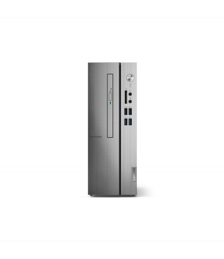 Lenovo Desktop 510s 90K8000AUIN with i3-9100 9th Generation, 4GB HDD, 1TB Hard Drive, DVD drive with Windows 10 and Monitor 21.5 inch
