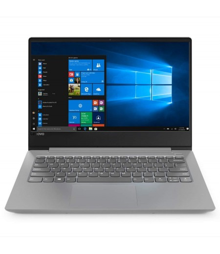 Lenovo Ideapad 330S Intel Core I3 7th Gen 14-inch HD Thin and Light Laptop ( 4GB RAM / 1TB HDD / Windows 10 Home / Silver/ 1.6Kg ), 81F4008UIN