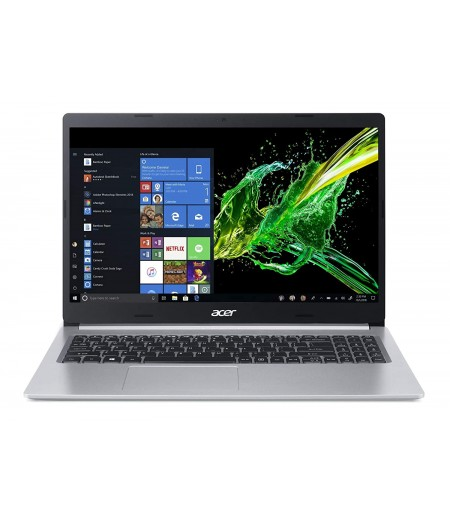 Acer Aspire 5 Slim A515-54G 2019 15.6-inch Thin and Light Notebook(10th Gen Intel Core i5-10210U processor/8GB/1TB HDD/Microsoft Office 2019/Windows 10 Home/2 GB of MX250 Graphics), Pure Silver
