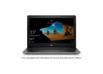 Dell Inspiron 3593 15.6-inch Laptop (10th Gen Ci5-1035G1/8GB/1TB HDD + 256GB SSD/W10+ MSO/2GB NVIDIA MX 250 NVIDIA), Platinum Silver