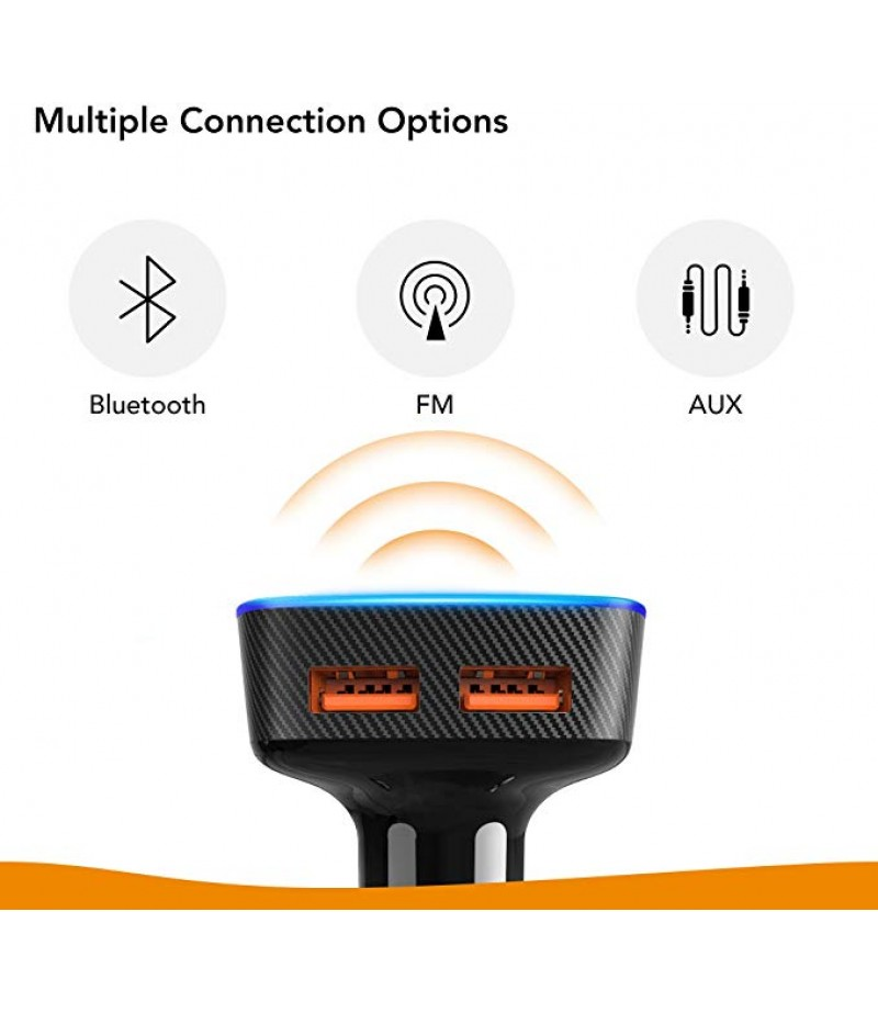 Roav Viva Pro, by Anker, Alexa-Enabled 2-Port USB Car Charger for Navigation, Hands-Free Calling, and Music. for Cars with Bluetooth/CarPlay/Android Auto/Aux-in/FM Reception-M000000000238 www.mysocially.com