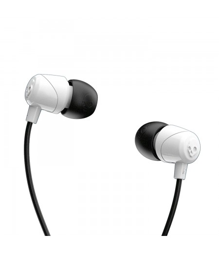Skullcandy Jib Wired In-Earphone with Mic (White/Black)