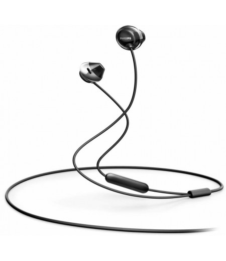Philips SHE4205BK/00 Wired Headset  (Black, Wired in the ear)