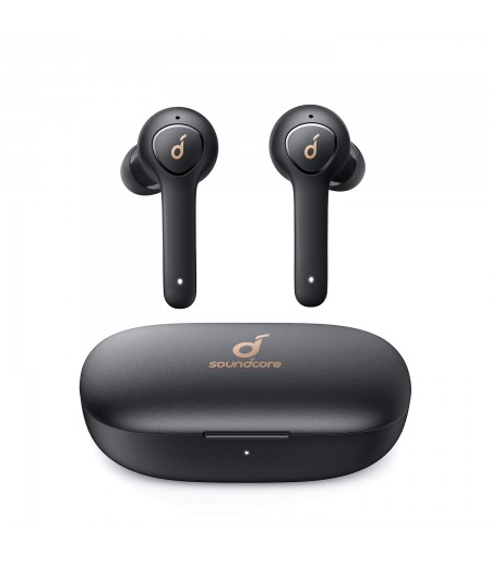 Soundcore Anker Life P2 Wireless Earbuds with 4 Microphones, cVc 8.0 Noise Reduction, Graphene Drivers for Clear Sound, USB C, Waterproof, Wireless Earphones