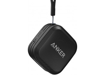 Anker SoundCore Sport (IPX7 Waterproof/Dustproof Rating, 10-Hour Playtime) Outdoor Portable Bluetooth Speaker/Shower Speaker with Enhanced Bass and Built-In Microphone