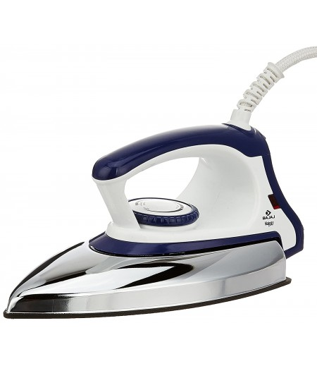 Bajaj Majesty DX 11 1000-Watt Dry Iron in Blue/White color