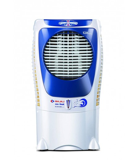 Bajaj DC 2015 ICON Digital Desert Air Cooler 43L in White/Blue shade