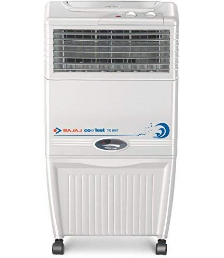 Bajaj Coolest TC 2007 Tower Air Cooler White and 37 Litres