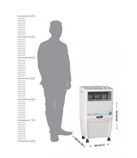Bajaj Coolest TC 2007 Tower Air Cooler White and 37 Litres-M000000000410 www.mysocially.com