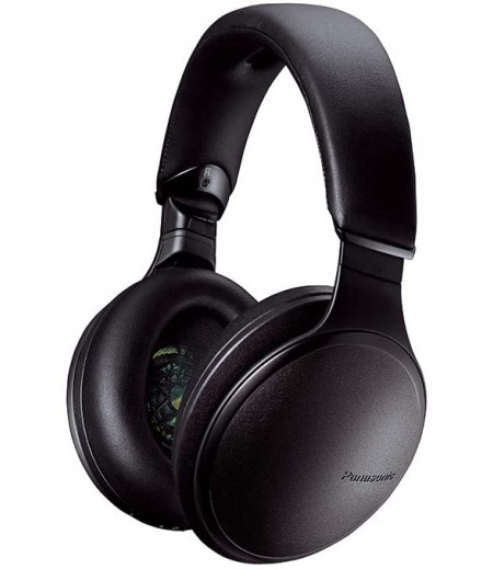Panasonic RP-HD605NE-K Noise Canceling Headphones with Wireless Bluetooth- Black