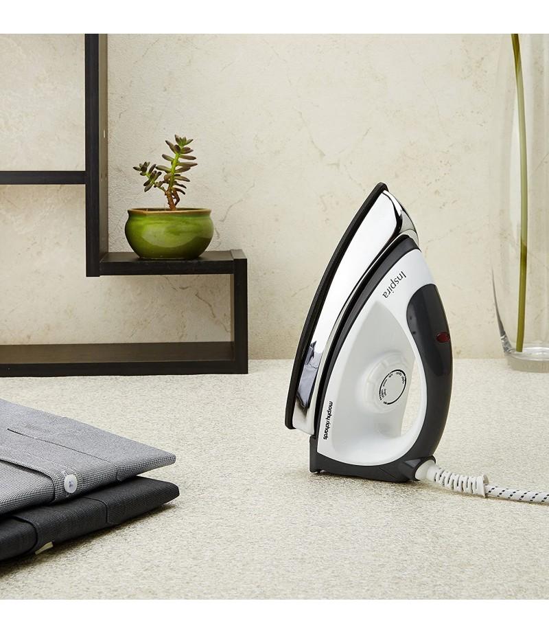 Morphy Richards Inspira 1000-Watt Dry Iron (White & Black)-M000000000407 www.mysocially.com