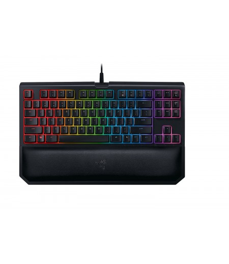Razer Blackwidow Tournament Edition Chroma V2: Esports Gaming Keyboard - Ergonomic Wrist Rest - Tenkeyless Design - Razer Green Mechanical Switches (Tactile And Clicky)