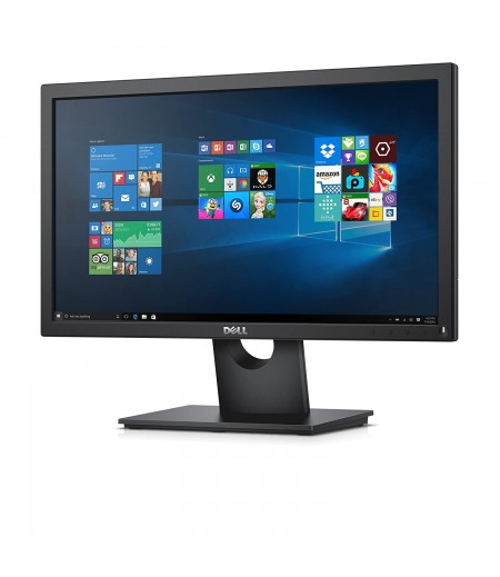 Dell 19.5 inch (49.41 cm) LED Backlit Computer Monitor - HD, TN Panel with VGA Port - E2016HV (Black)