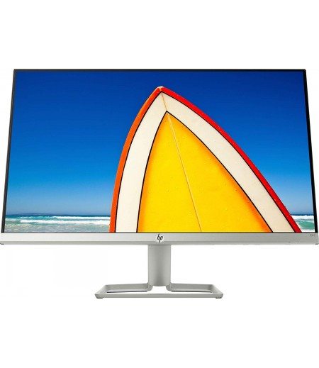 HP 24 inch (61.0 cm) Ultra-Slim LED Backlit Gaming Monitor - Full HD, 75 Hz Refresh Rate, AMD Free Sync,Anti-Glare, IPS Panel with VGA and HDMI Ports - HP 24F Display - 3AL28AA