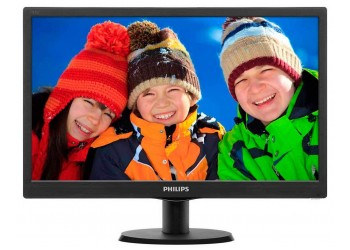 Philips 193V5LHSB2 18.5-inch LCD Monitor (Black)