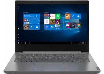 Lenovo V14 Intel Core i5 10th Gen 14-inch HD Thin and Light Laptop (4GB RAM/ 256GB SSD/ Windows 10 Professional/ Grey/ 1.6 kg), 82C40106IH